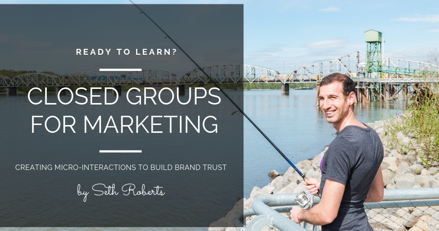 Closed Groups as a Marketing Strategy